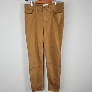 "Madewell 9"" high-rise Skinny pants"